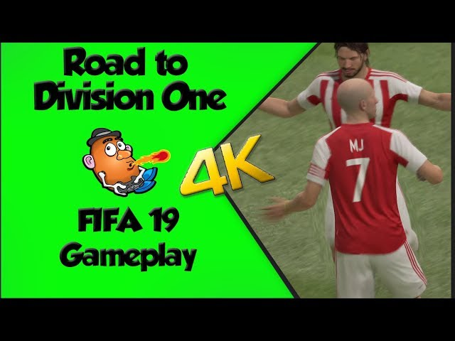 Road to Division One |  FIFA 19 |  Xbox One X Gameplay