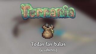 Todas las balas (y cohetes) - Terraria 1.3