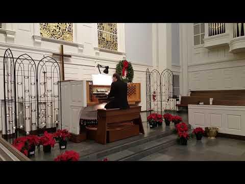 "Tchaikovsky - ""Dance of the Sugarplum Fairy"" from ""The Nutcracker Suite""; Viktor Billa - organ;"