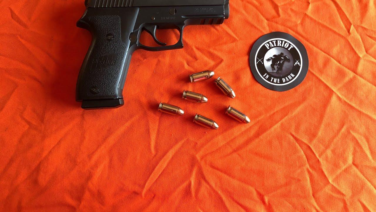 Sig Sauer P220 DAK 45acp * Double Action Kellerman * Pt 2A Descriptive Field Strip * PITD