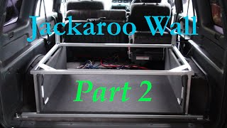 Jackaroo Wall Build Part 2 - Decimal Audio 15