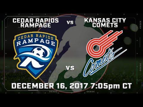 Cedar Rapids Rampage vs Kansas City Comets