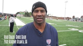 Pace Academy Head Football Coach Chris Slade Scout Card Report