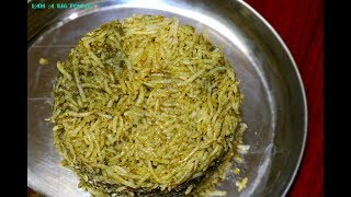 Soooo Simple Spinach Pulao.!!!||| Palak Pulao Recipe