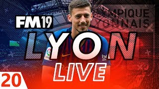 Football Manager 2019 | Lyon Live #20: Summer Transfer Window #FM19