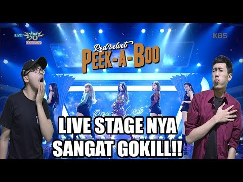 RED VELVET - PEEK A BOO LIVE STAGE REACTION!! ( SEXY SEKALI!! )