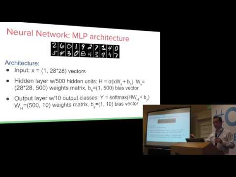 "ODSC West 2015 | Markus Beissinger - ""OpenDeep Workshop: Hands on with Deep Learning"""
