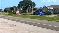 Vehicle crash on US-1 south of Rockledge, Florida