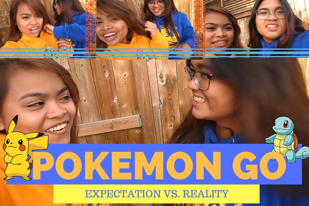 pokemon go expectation vs reality cousinduo. Black Bedroom Furniture Sets. Home Design Ideas