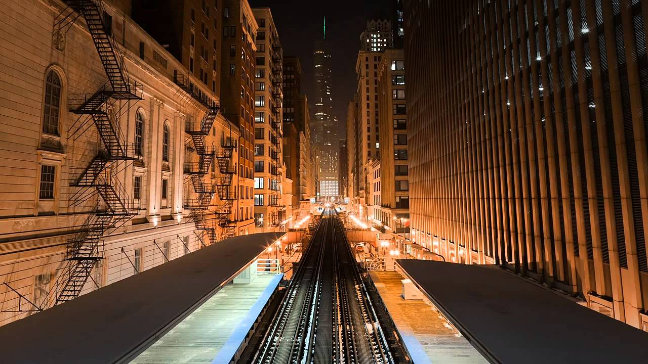 Chicago Train Station Live Wallpaper - YouTube