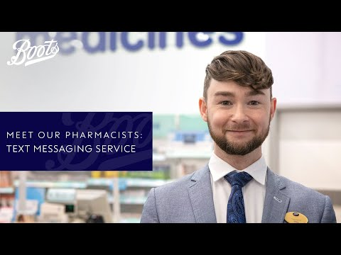 Meet our Pharmacists | Boots text messaging service | Boots UK