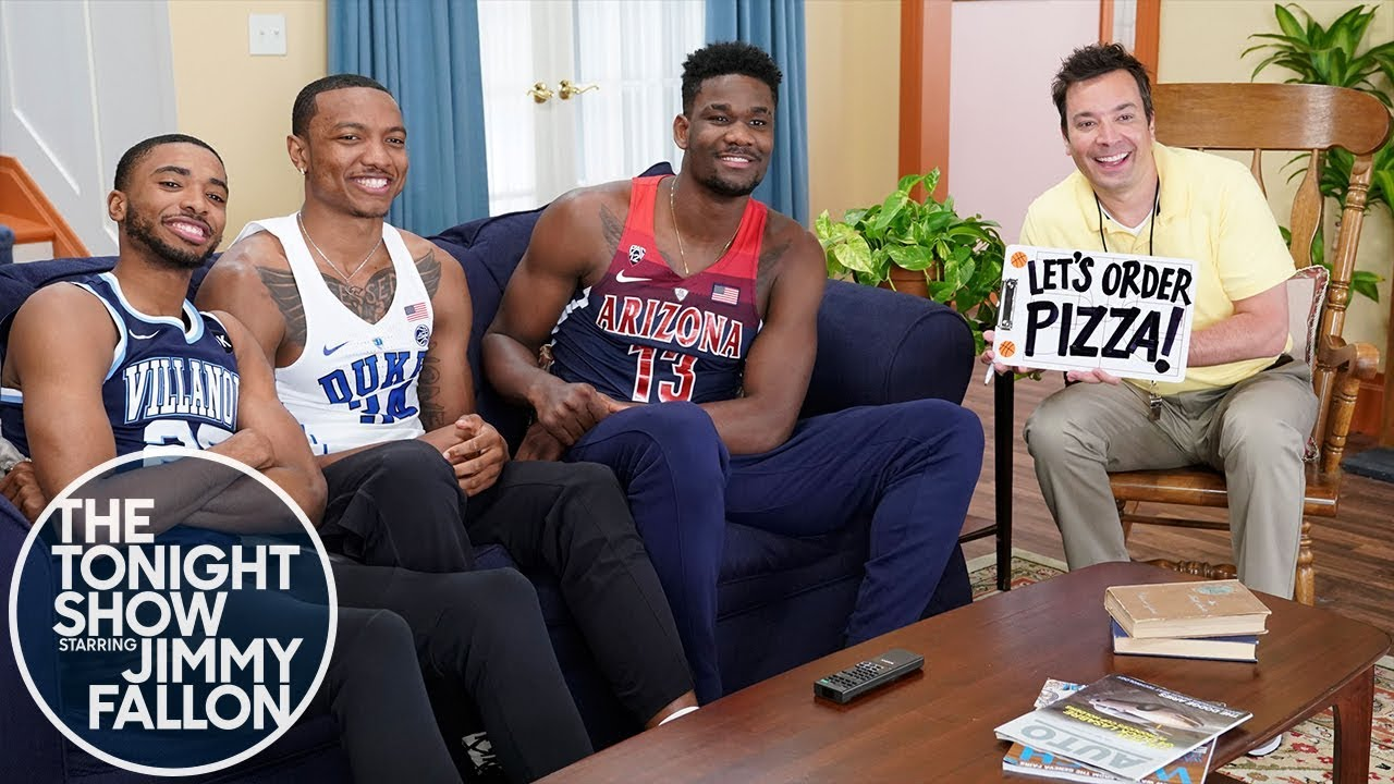Jimmy Fallon & NBA Draft Stars '90s Sitcom Theme