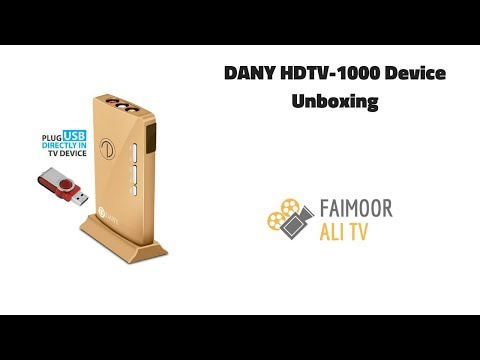 DANY HDTV-1000 DEVICE UNBOXING | FAIMOOR ALI TV