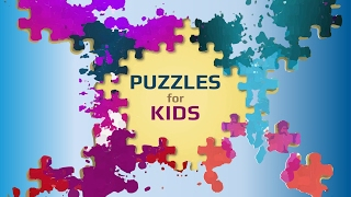 Kids Animals Jigsaw Puzzles APK Game - Free Educational Brain Games for Android | Gameplay