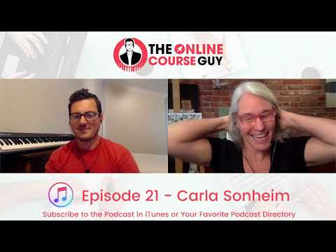 Online Art Courses with Carla Sonheim (OCG Podcast Episode 21)