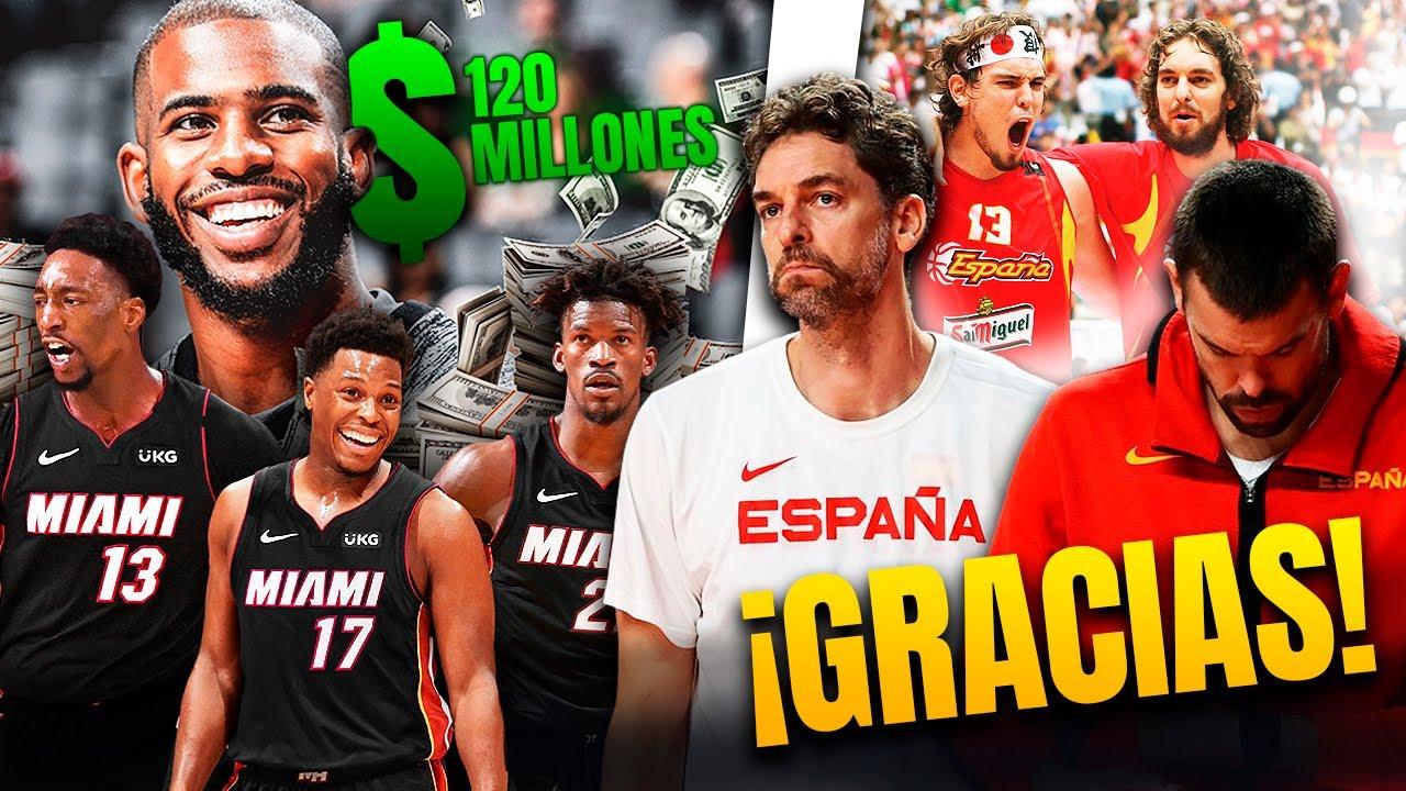 ¡50 FICHAJES Y 2.000 MILLONES! ESPAÑA KO Y ADIÓS A LOS GASOL
