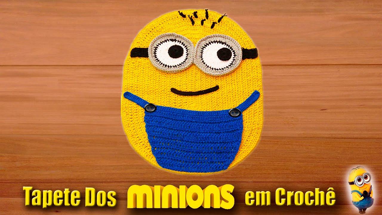 Tapete Minions De Croche : TAPETE MINION EM CROCH? FunnyCat.TV