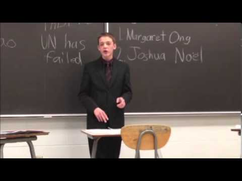Highschool Debate on the UN