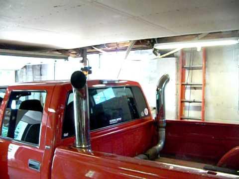97 Chevy 6.5 Dually Stacks - YouTube