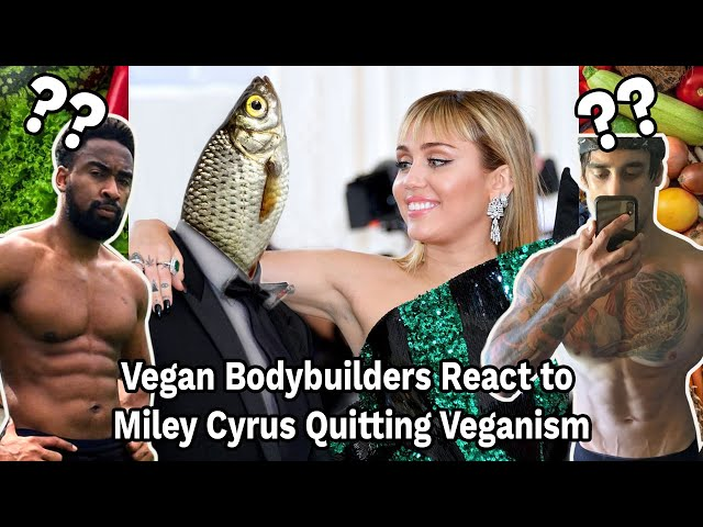 THE AETHIX APPROACH - Ep 8 - Miley Cyrus Quits Veganism!? Vegan Bodybuilders React!
