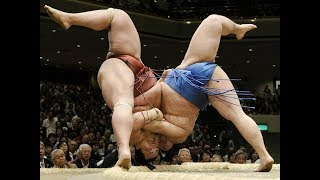 5 INCREDIBLE Sumo Wrestling **MOST BRUTAL**