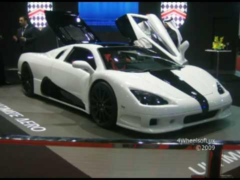 Abu Dhabi Auto Show – Lexus LF-A, Ultimate Aero TT, LP560-4 Spyder, Tramontana & Lots More!