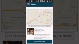 Restaurant Finder !! Android App