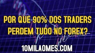 Porque 90% dos Traders perdem tudo no FOREX ?