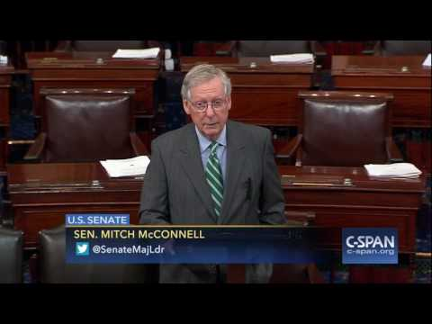 Senate Majority Leader unveils Health Care Law Replacement (C-SPAN)