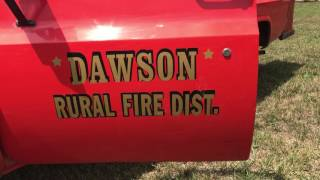 1976 Chevy 3/4 Ton Pickup (Converted Rural Firetruck), Only 8,762 Miles!
