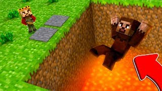 RÜZGAR, FAKİRİ TUZAĞA DÜŞÜRDÜ! 😱 - Minecraft
