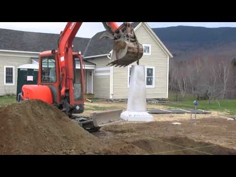 Precast Concrete Pier Installation Youtube