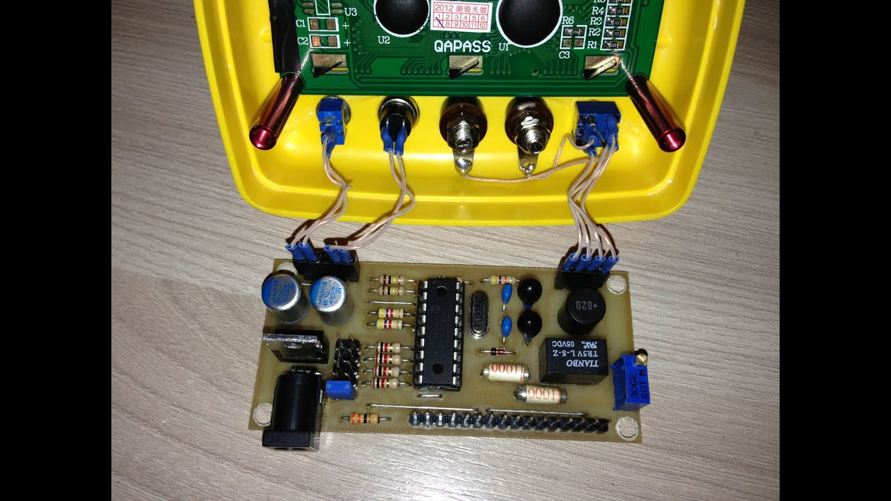 схема прибора для измерения esr конденсаторов