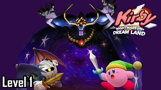 Kirby : Nightmare in Dreamland : ดินแดนผัก [Vegetable Valley] Level 1