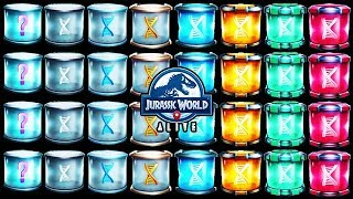 OPENING ALL INCUBATORS! (JURASSIC WORLD ALIVE)