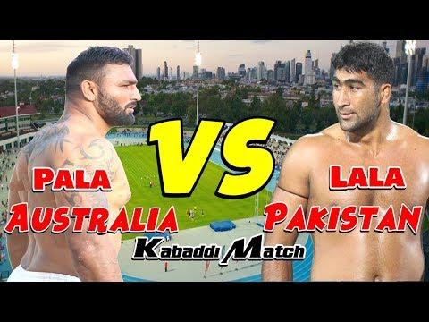 Australia V.S Pakistan Match Punvec Kabaddi World Cup 2018
