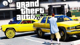 Stealing Rival Gangs Donks! - GTA 5 Real Hood Life - Day 96