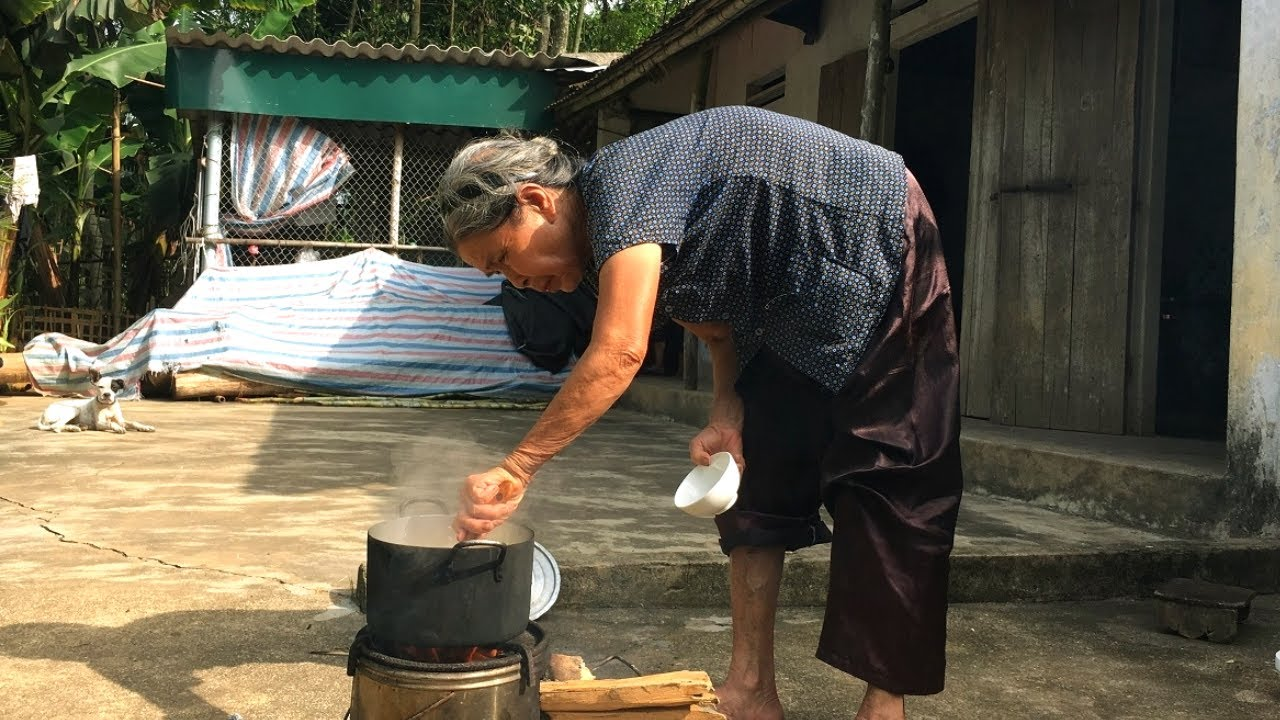 Cháo hạt sen món ăn thơm ngon bổ dưỡng Mẹ nấu (lotus seed porridge)Cơm Mẹ Nấu