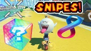 Mario Kart 8 Deluxe Item Snipe Montage 8