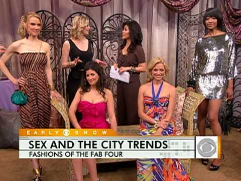 Sex And The City 2 Fashion Trends Youtube