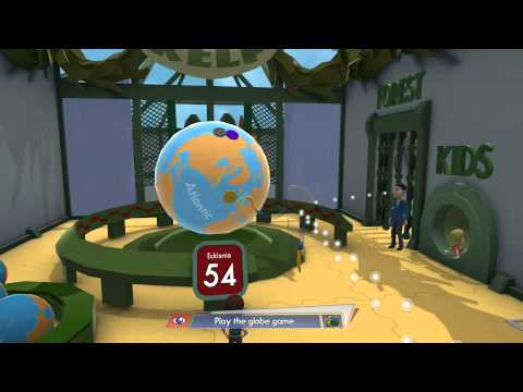 Octodad: Dadliest Catch - World of Kelp: Tommy's Globe Game Sequence HD Gameplay Playstation 4