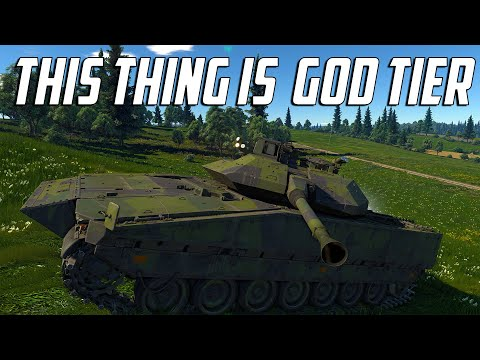 "War Thunder - Strf 90C ""This Thing Is God Tier"""