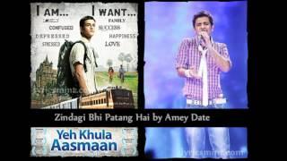 Amey Date' song in Movie - Zindagi Bhi Patang Hai