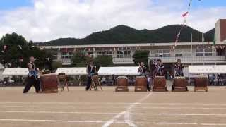 岩尾城太鼓 「遊」 小川小学校