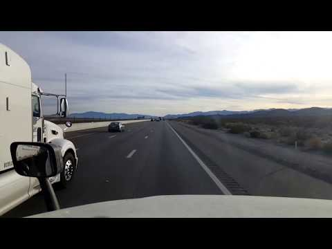 BigRigTravels LIVE! Jean, Nevada to Hesperia, California Interstate 15 South-Jan. 14, 2018