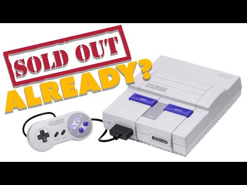 SNES Mini SOLD OUT Already? - The Know Game News
