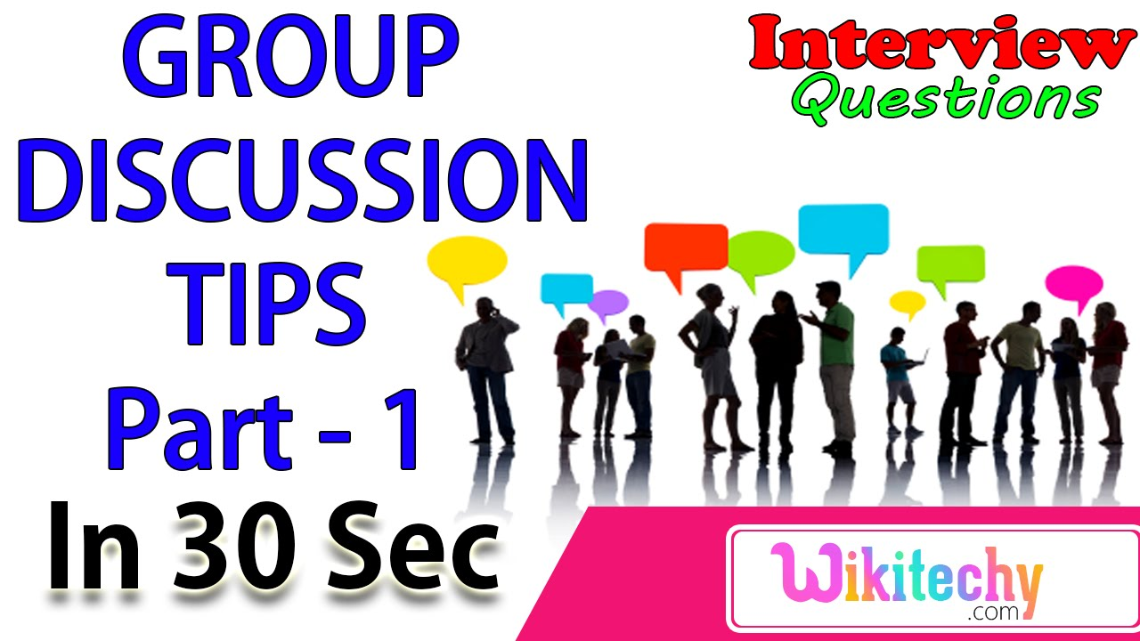 Objective of a Group Discussion  GD