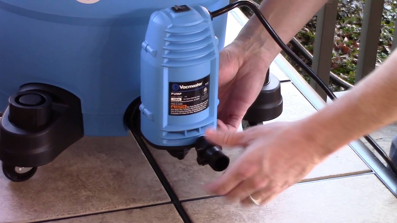 Vacmaster Wet/Dry Vac Pump Accessory