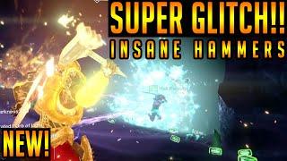 Destiny TITAN GLITCH | INSANE Super Glitch HAMMERS! SOLAR TITAN GLITCH