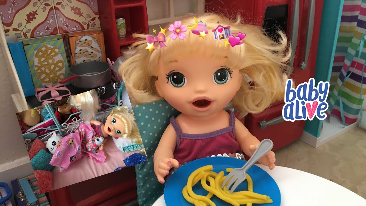 BABY ALIVE Ellie Night Routine / FAN MAIL